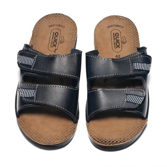 Papuci Barbati Andor Blue - Papuci - Sandale - oferit de unuplusunugratis.ro