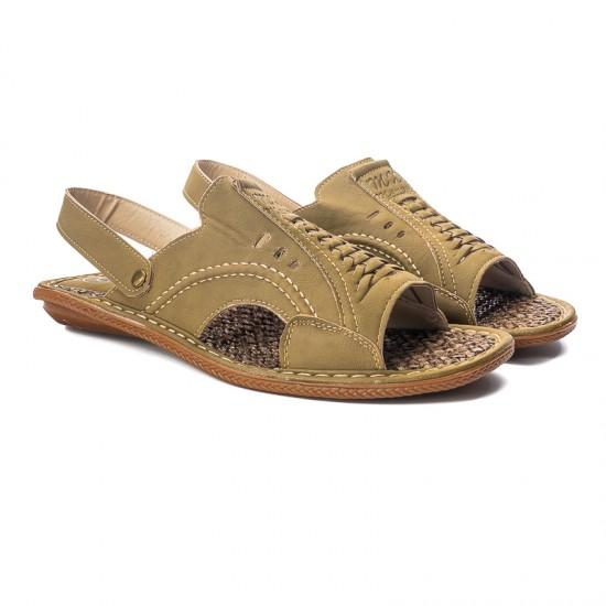 Sandale Barbati Omer Khaki - Papuci - Sandale - oferit de unuplusunugratis.ro